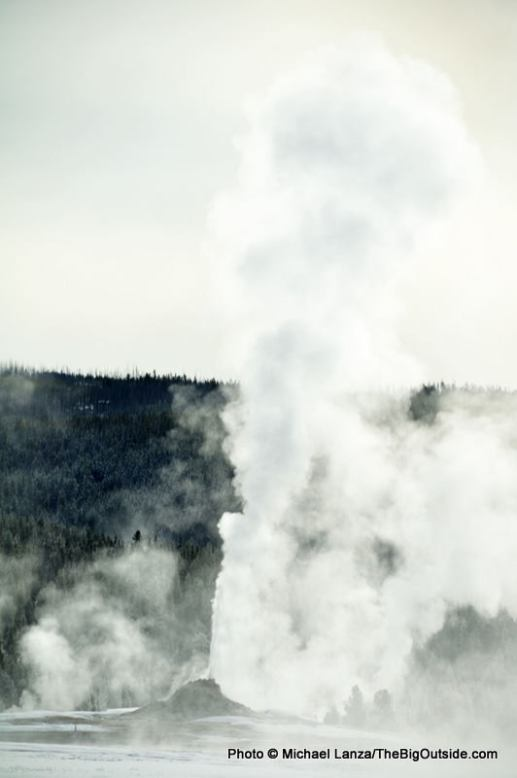 White Dome Geyser, Fountain Paint Pots area, Yellowstone