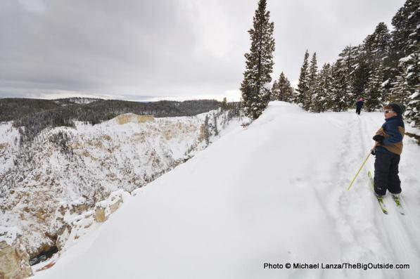 Canyon Rim ski trail, Yellowstone