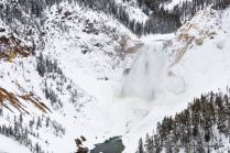 Lower Yellowstone Falls, Grand Canyon of the Yellowstone River.