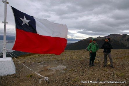 "On Cerro Bandera, ""Flag Mountain."""