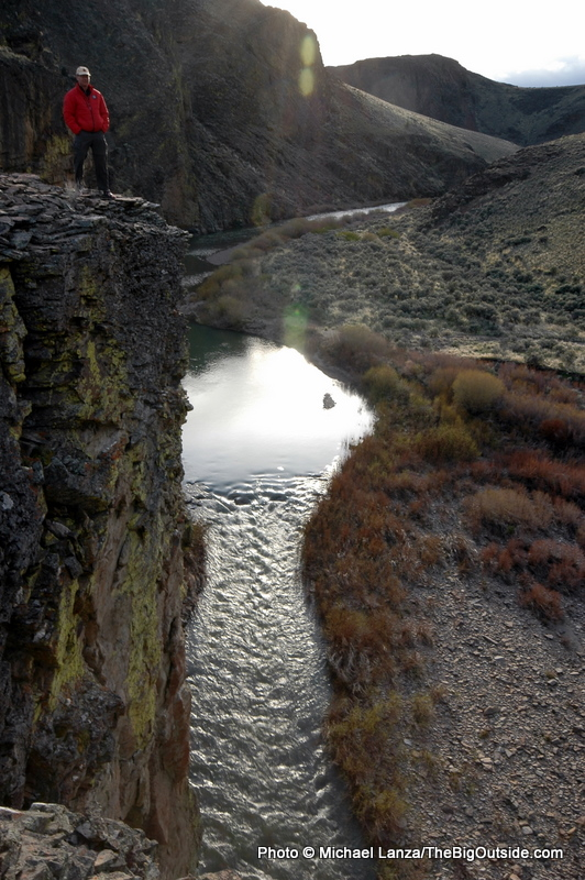 Above Deep Creek.