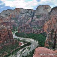 Above Zion Canyon, West Rim Trail.