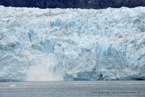 Margerie Glacier calving, Tarr Inlet
