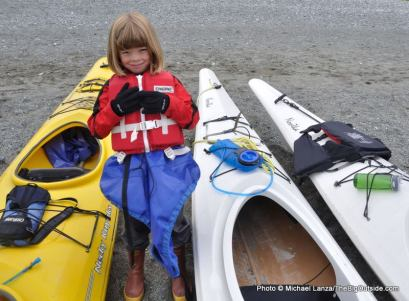 Alex at Ptarmigan Beach.