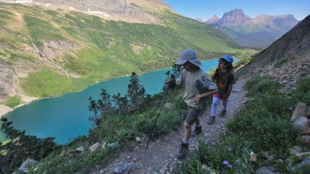 Jagged Peaks and Wild Goats: Backpacking Glacier's Gunsight Pass Trail