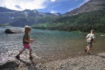 Alex, Nate, Gunsight Lake