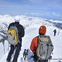Atop Red Mountain, above Norway Basin, Wallowa Mountains, Oregon.