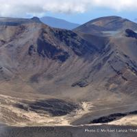 Mt. Tongariro seen from Mt. Ngauruhoe