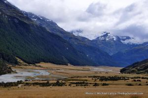 Rees Valley, Rees-Dart Track, New Zealand.