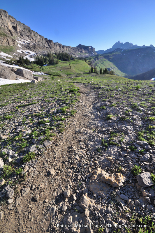 Teton Crest Trail, Death Canyon Shelf.