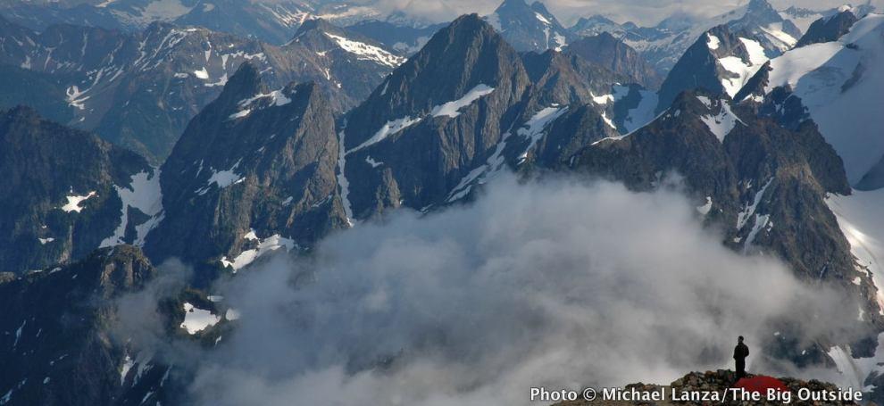 Sahale Glacier Camp, North Cascades National Park.