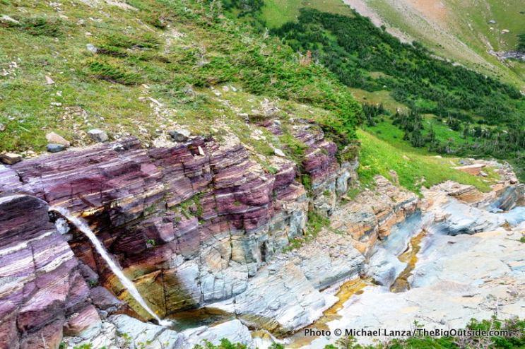 Morning Eagle Falls, Piegan Pass Trail.