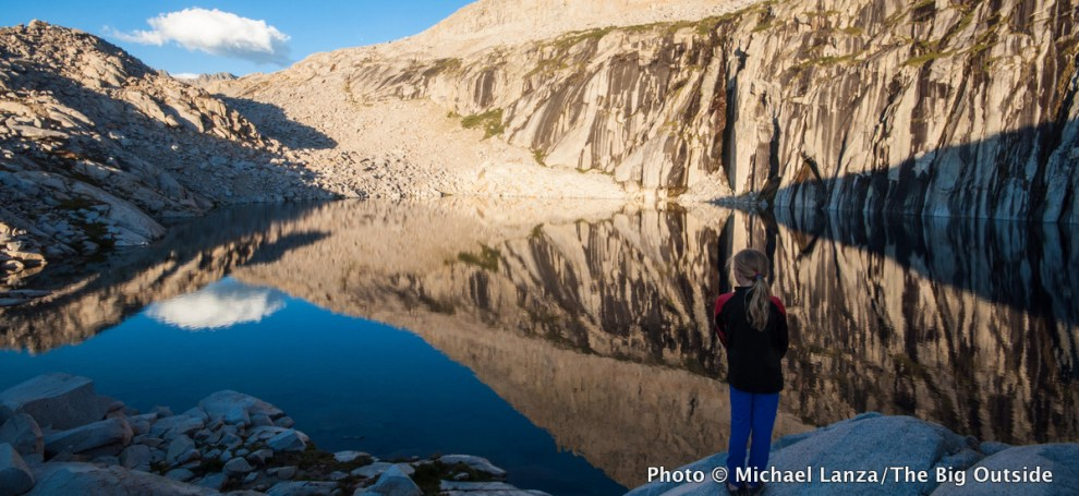 Precipice Lake, Sequoia National Park, California.