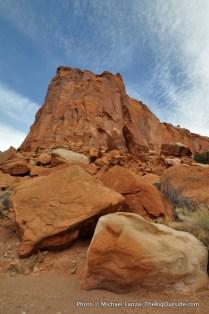 Chimney Rock Canyon.
