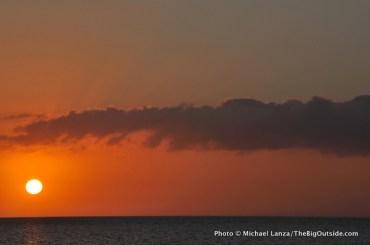 Sunset, Tiger Key, Ten Thousand Islands, Everglades National Park.