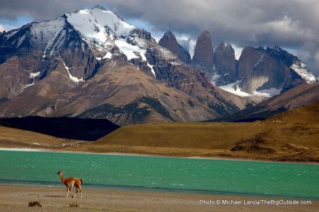 Torres del Paine National Park, in Chile's Patagonia region.