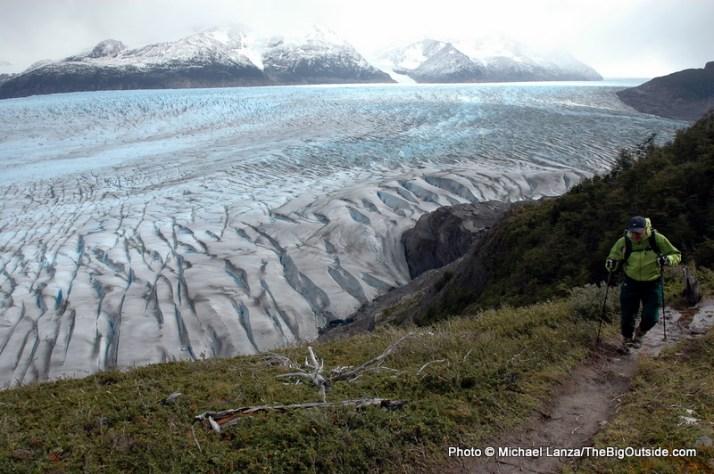 Above the Grey Glacier.