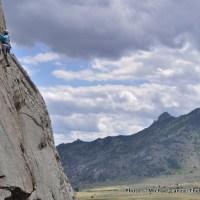 Kate Ryan on Between Heaven and Earth, Castle Rocks.
