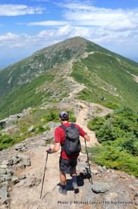 Franconia Ridge, in New Hampshire's White Mountains.