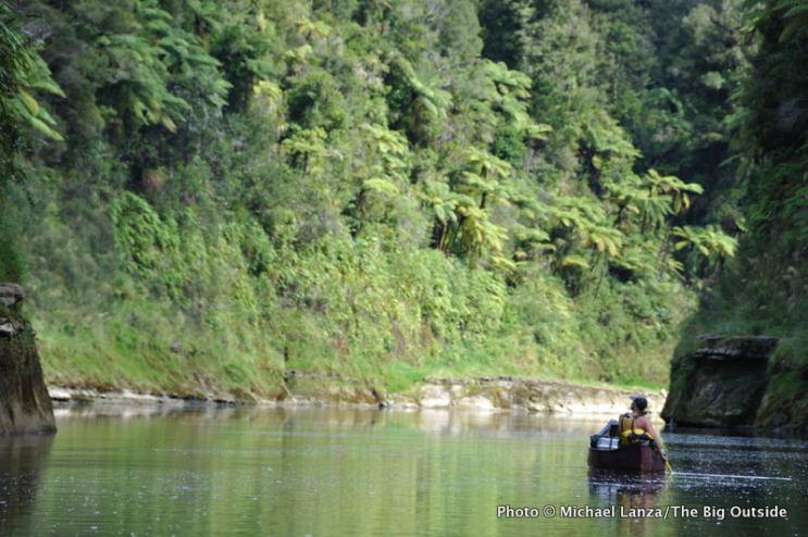 Whanganui River, Whakahoro to Pipiriki, day one.