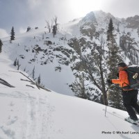 Ridge north of Bench Lakes.