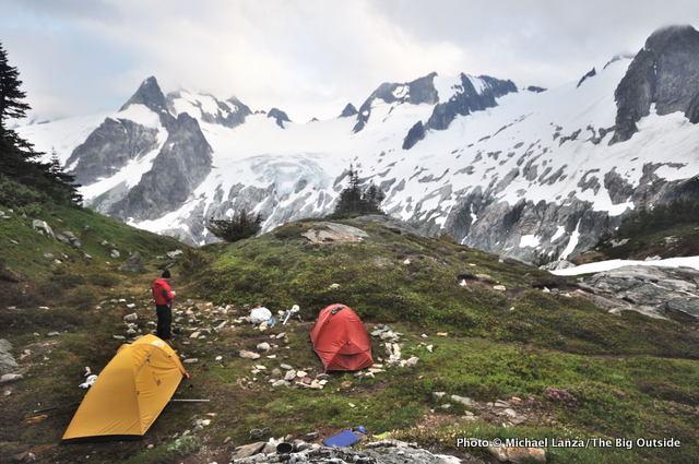 White Rock Lakes, Ptarmigan Traverse, Glacier Peak Wilderness.