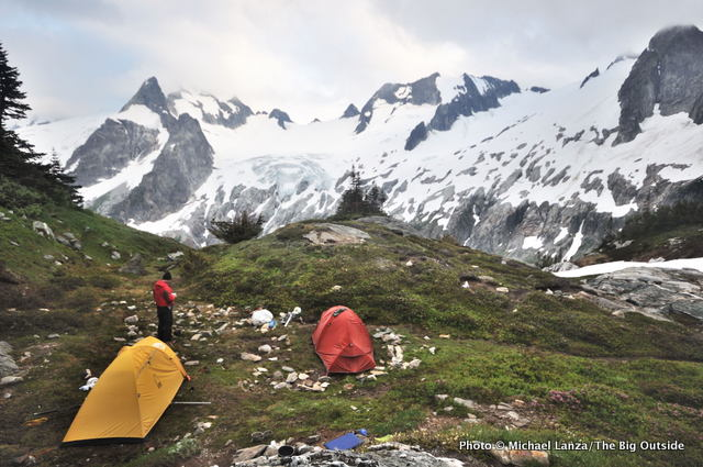 White Rock Lakes, Ptarmigan Traverse, Glacier Peak Wilderness.