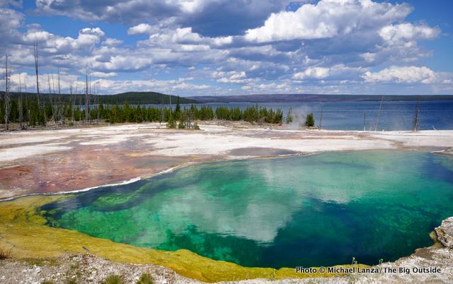 Abyss Pool, West Thumb Geyser Basin, Yellowstone.