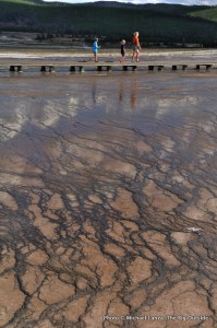 Grand Prismatic Geyser, Midway Geyser Basin