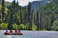 On the Grand Ronde River, Oregon.
