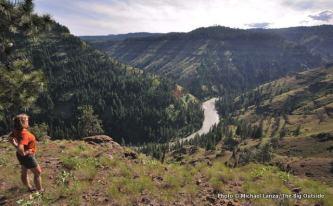 Grand Ronde River.