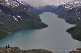 Besseggen Ridge, Lake Gjende, Jotunheimen