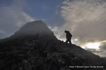 Climbing Kyrkja