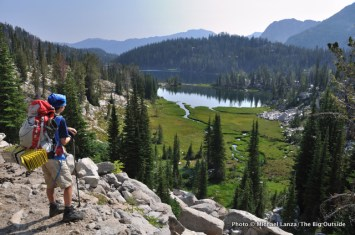 In the Lakes Basin.