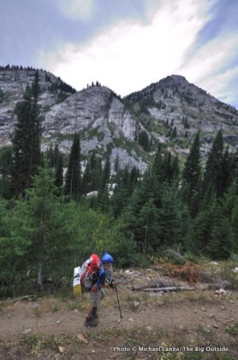 East Fork Eagle Creek Trail.