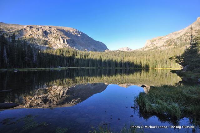 Ouzel Lake, Wild Basin, Rocky Mountain National Park.