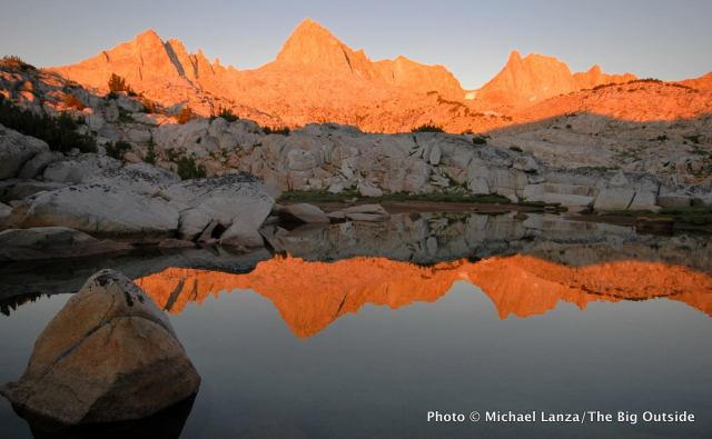 Granite Park in the John Muir Wilderness.