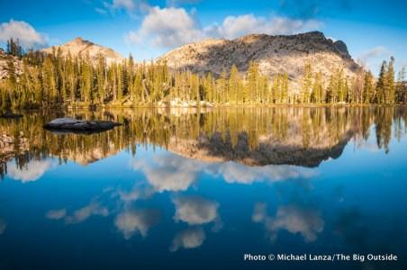 Rock Slide Lake in Idaho's southern Sawtooth Mountains.