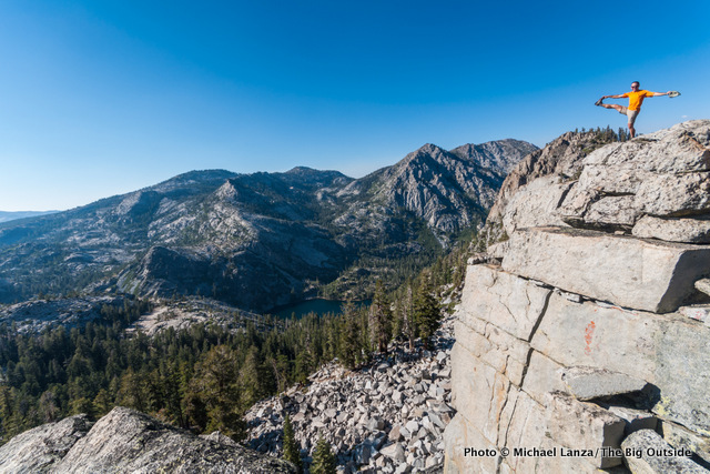 Along the Bayview Trail, Desolation Wilderness, California.