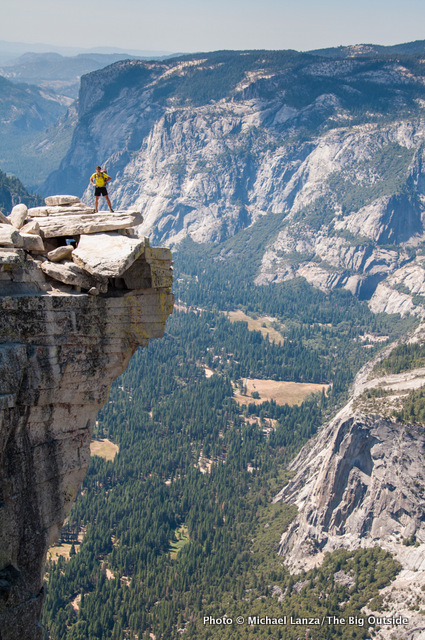 Atop Half Dome, Yosemite National Park.