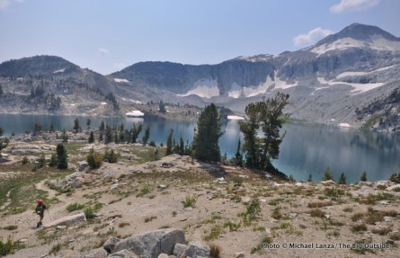 Trail 1806 at Glacier Lake, Eagle Cap Wilderness.