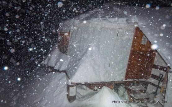 The Baldy Knoll yurt.