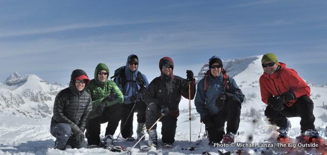 The summit of Peak 10024.