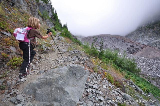Backpacking the Wonderland Trail in Mount Rainier National Park.