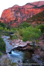 La Verkin Creek, Kolob Canyons, Zion.