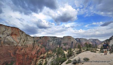 West Rim Trail, Zion National Park.