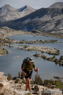 Marie Lake, John Muir Trail.