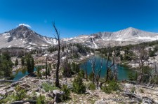 Big Boulder Lakes, White Cloud Mountains.