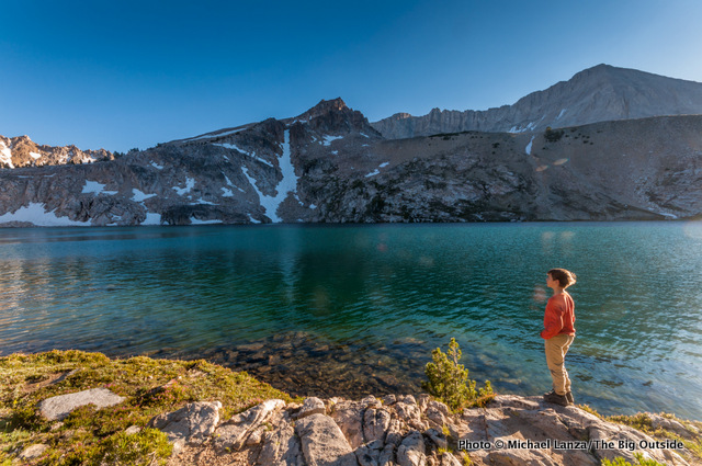 Sapphire Lake in the Big Boulder Lakes.