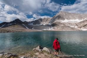 Cirque Lake, White Cloud Mountains.